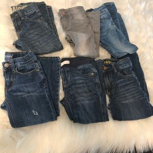Lot of 6 size 4T boy jeans